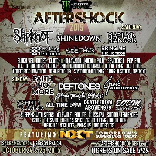 AFTERSHOCK 2015