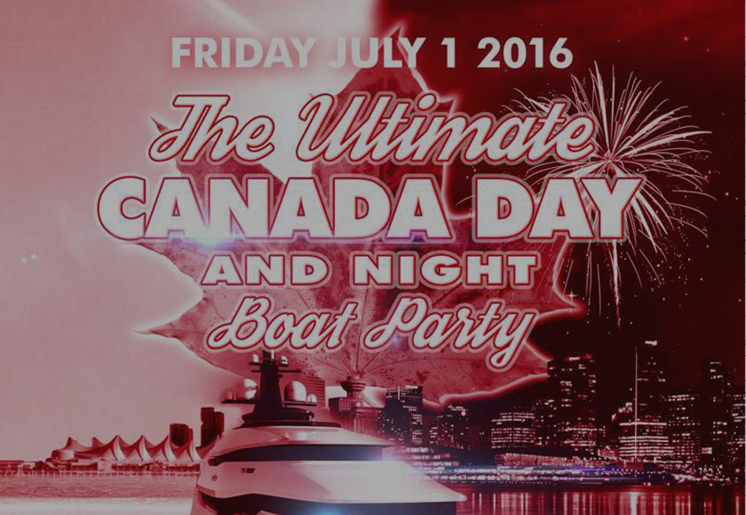 Canada Day Boat Party