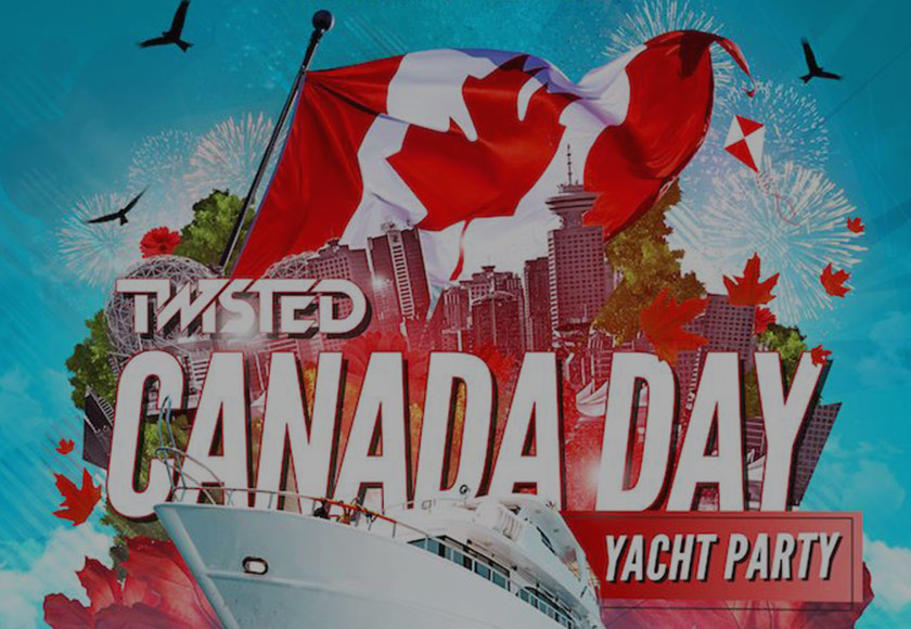Canada Day Yacht Party