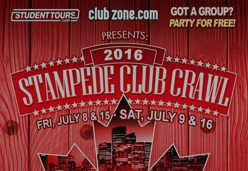 Stampede Club Crawl 2016