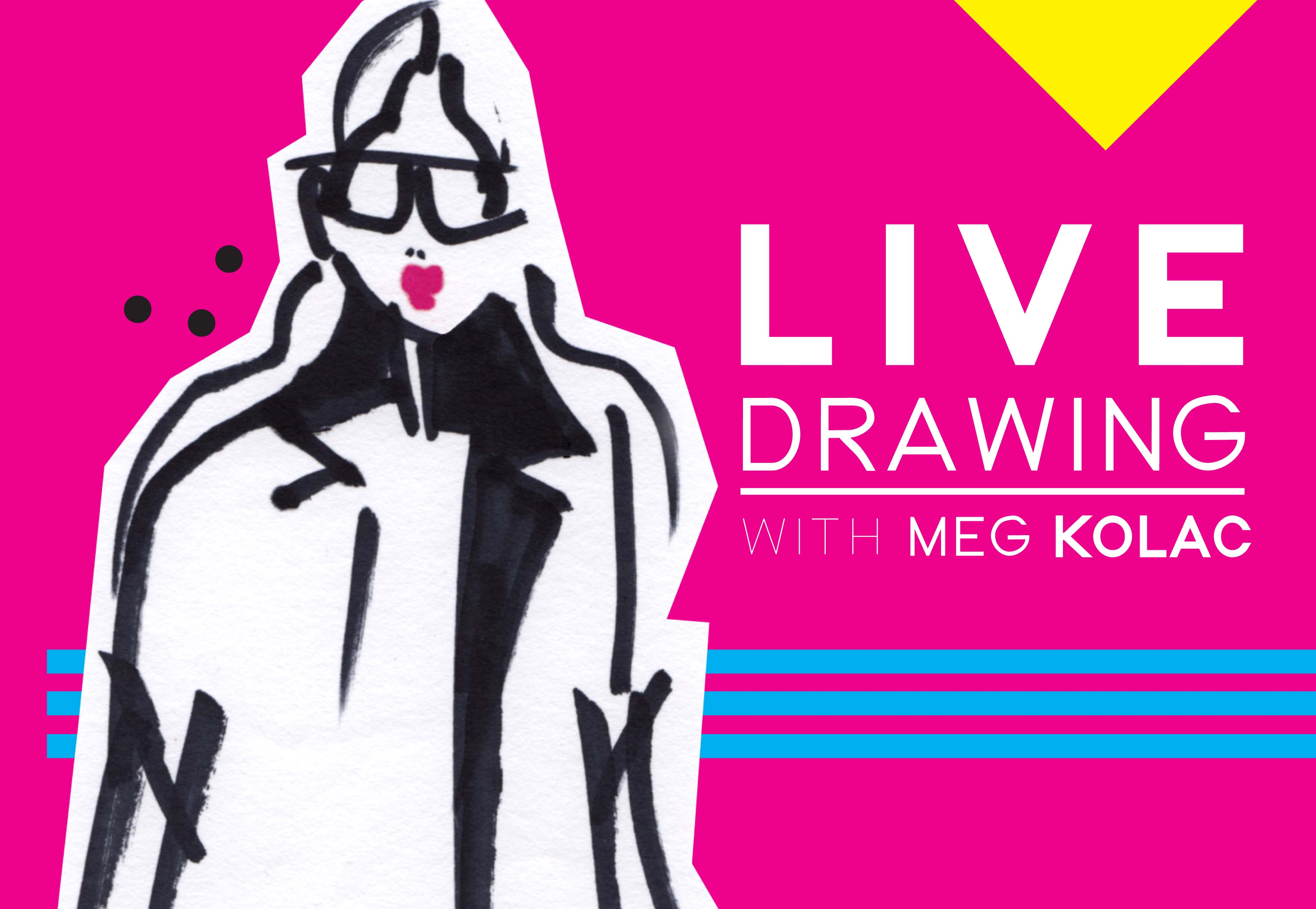 Live Drawing with Meg Kolac