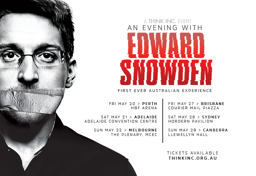 An Evening with Edward Snowden