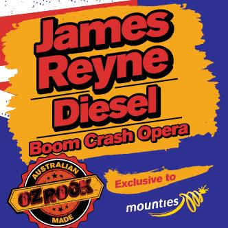 JAMES REYNE + DIESEL + BOOM CRASH OPERA