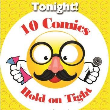 10 Comic Laugh-A-Thon