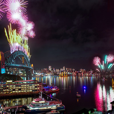 Sydney New Year's Eve 2019!