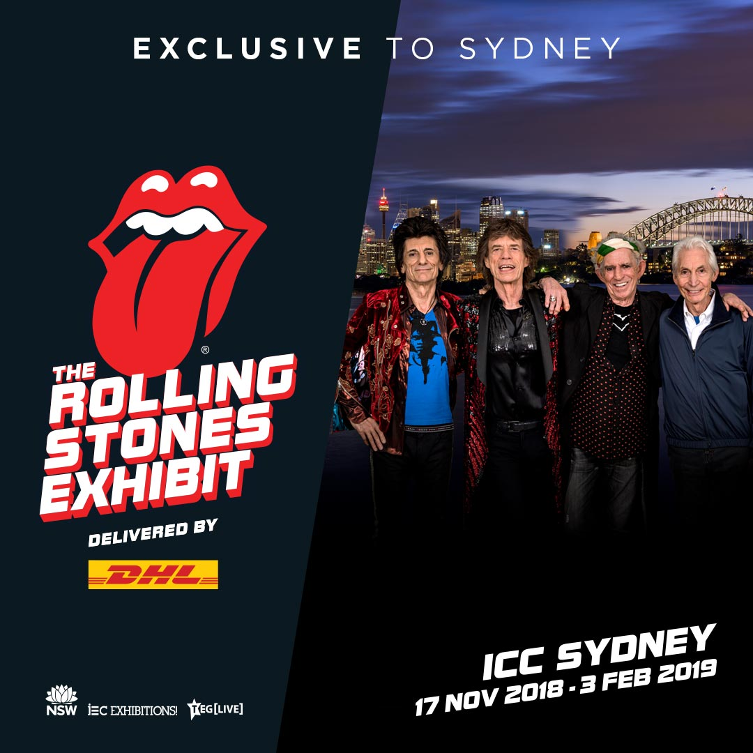 Exhibitionism: The Rolling Stones Exhibit Delivered By DHL