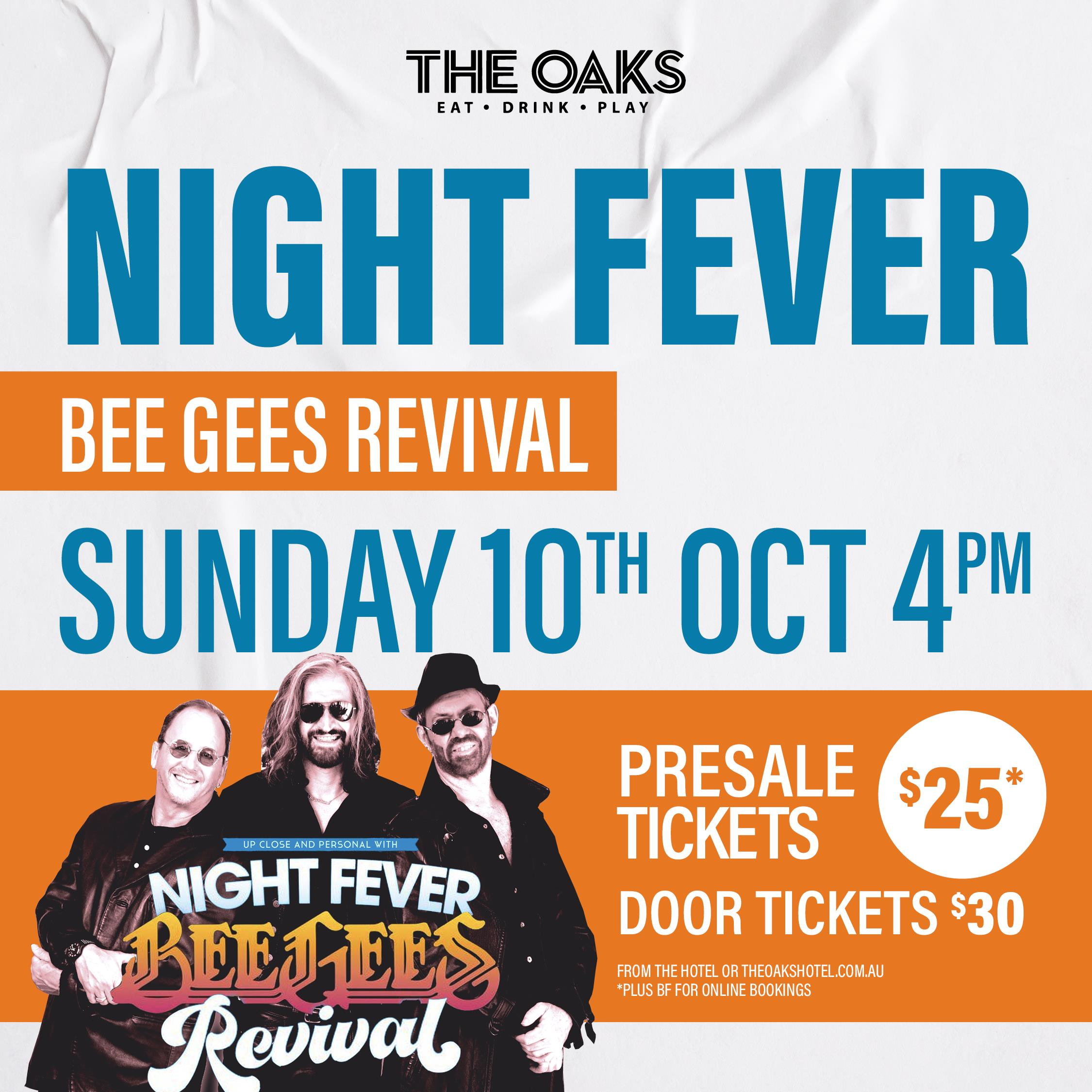 Night Fever - Bee Gees Revival