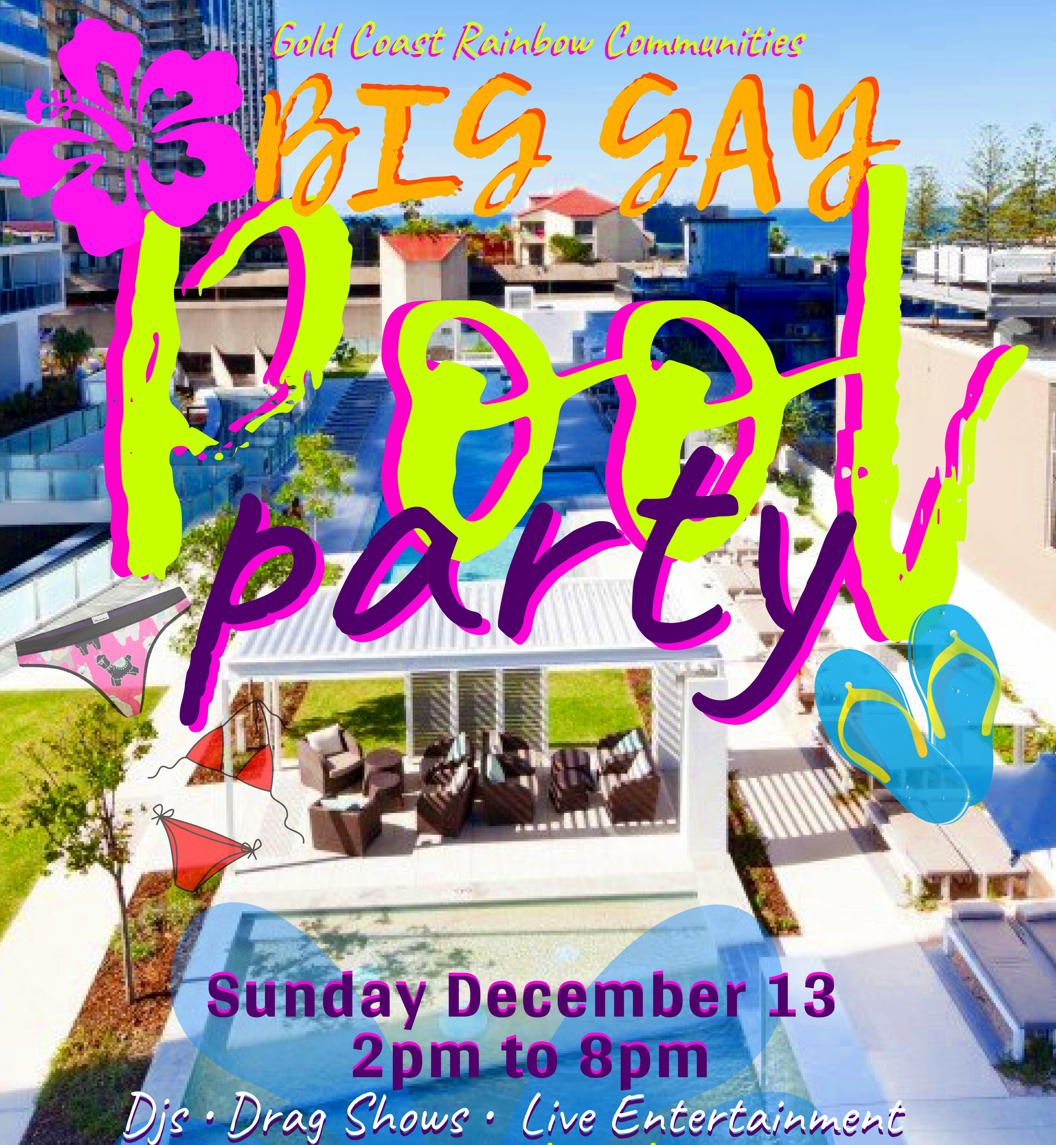 Big Gay Pool Party