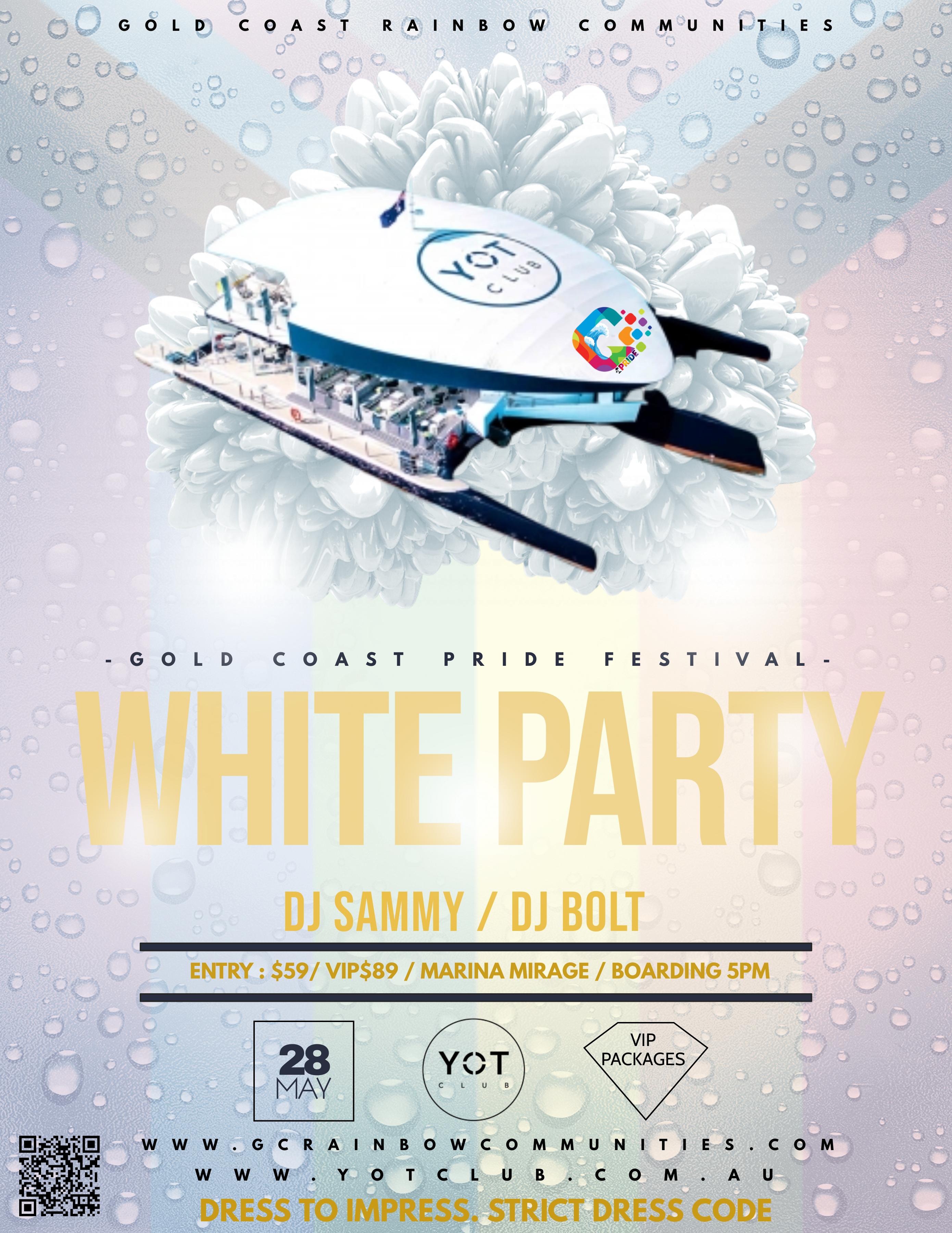 Pride White Party