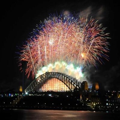 New Years Eve at Pirrama Park Wharf