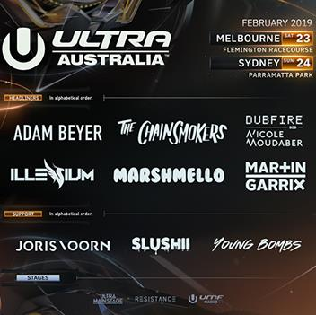 Enter the code ULTRAAUS & get $10 off every ticket!
