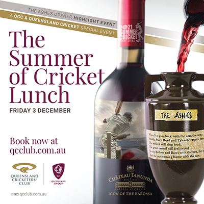 Summer of Cricket Pre-Test Lunch