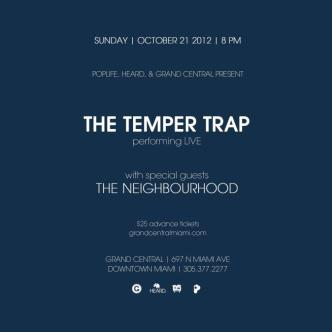 The Temper Trap: Main Image