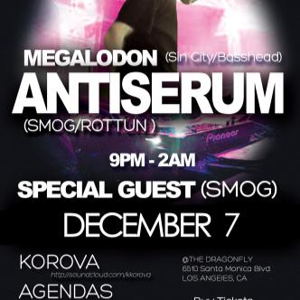 Antiserum, Megalodon, + Guests: Main Image