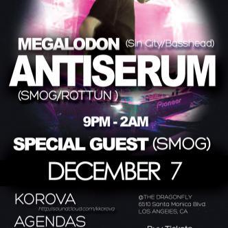 Antiserum, Megalodon, + Guests: Main Image