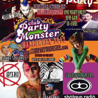CLUB PARTY MONSTER HALLOWEEN: Main Image