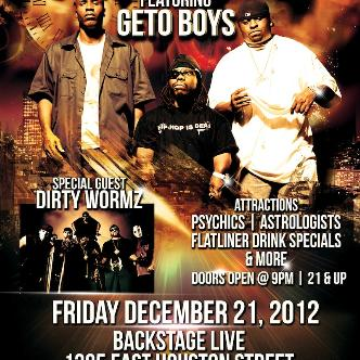 """Geto Boys """"End of the World"""": Main Image"""