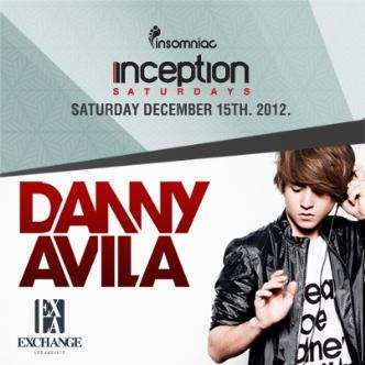 Inception presents Danny Avila: Main Image