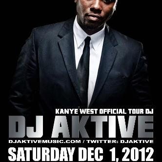 KANYE WESTS OFFICIAL DJ AKTIVE: Main Image