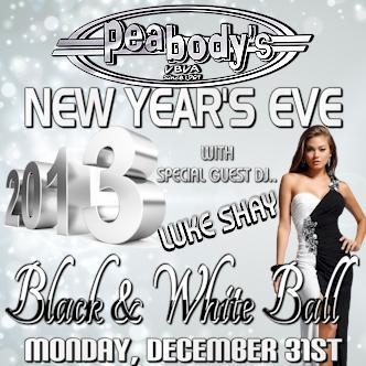 BLACK & WHITE NEW YEAR'S BALL: Main Image