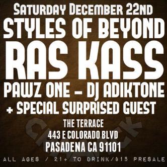 Styles Of Beyond / Ras Kass: Main Image
