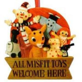 MISFITS FOR TOYS: Main Image