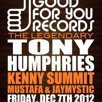TONY HUMPHRIES takes over LA: Main Image