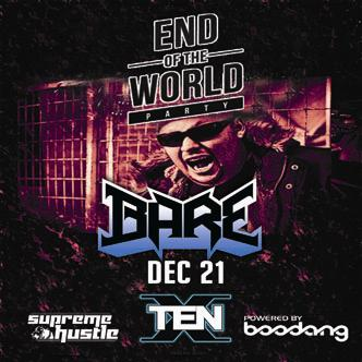 BARE - END OF THE WORLD PARTY: Main Image