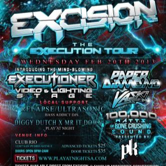 EXCISION LIVE at Club Rio SATX: Main Image