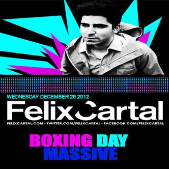 FELIX CARTAL  - Boxing Day!!!: Main Image
