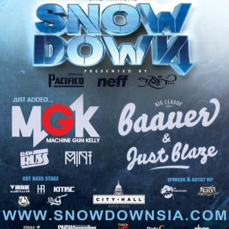 SNOWDOWN MGK/Baauer/Just Blaze: Main Image