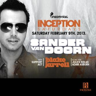 Inception ft. Sander van Doorn: Main Image