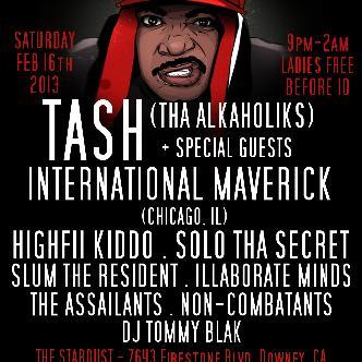 TASH (Tha Alkaholiks): Main Image