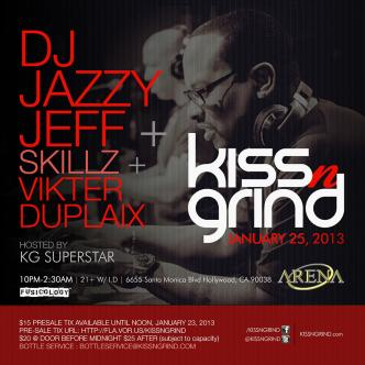 Kiss-n-Grind & DJ Jazzy Jeff: Main Image