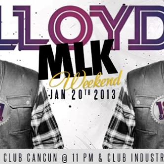 MLK WEEKEND WITH LLOYD LIVE!: Main Image