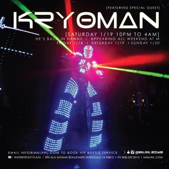 KRYOMAN AT M [NIGHTLIFE]: Main Image