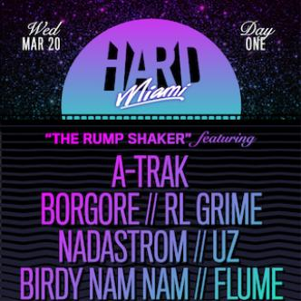HARD MIAMI - THE RUMP SHAKER: Main Image