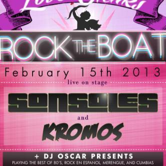 Rock The Boat-Love Stinks: Main Image