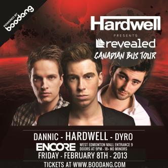 HARDWELL - Revealed Tour (EDM): Main Image