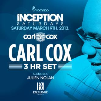 Inception ft. Carl Cox: Main Image