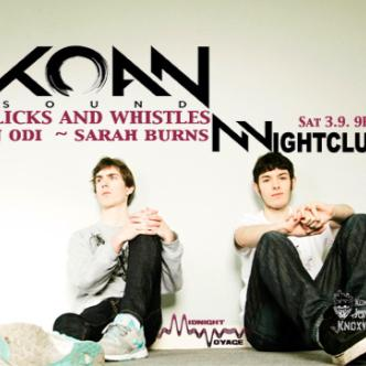 KOAN Sound | Clicks & Whistles: Main Image