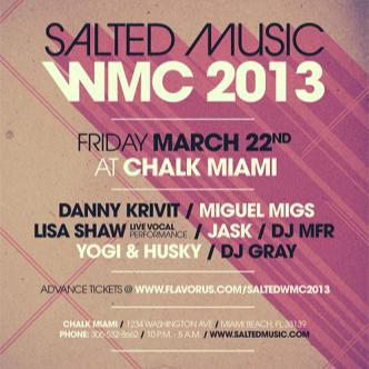 SALTED MUSIC WMC - MIGUEL MIGS: Main Image