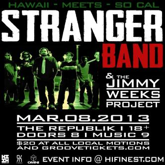 Stranger Band With Jimmy Weeks: Main Image