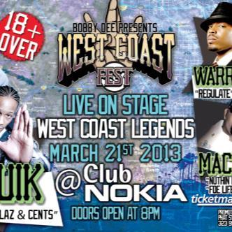 West Coast Fest: Main Image