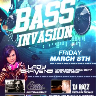 BASS INVASION: Main Image