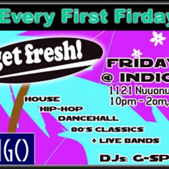 Get Fresh 1st Fridays @ Indigo: Main Image