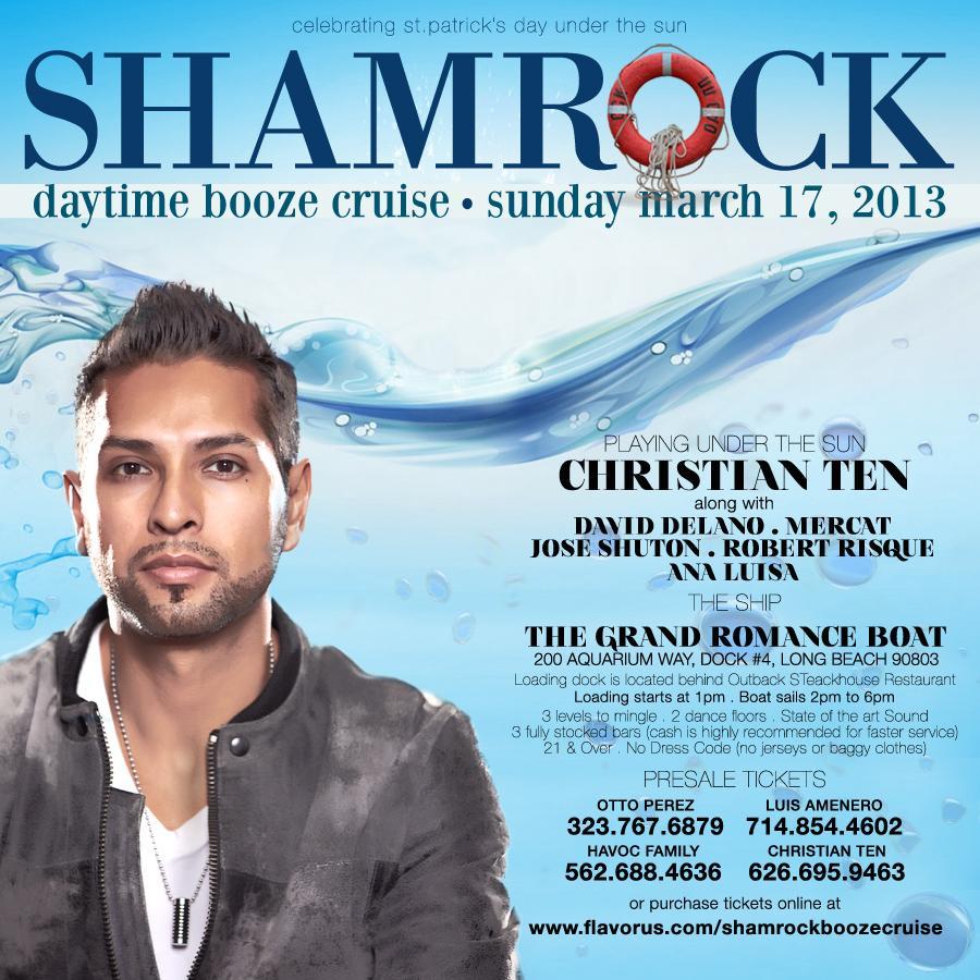 Shamrock Booze Cruise Daytime Tickets The Grand Romance
