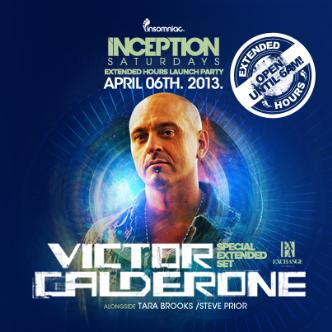 Inception ft. Victor Calderone: Main Image