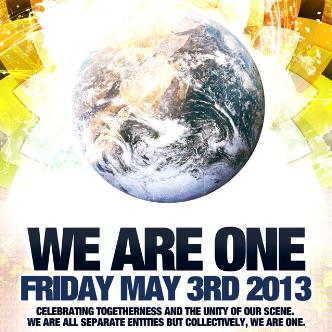 We Are One 2013: Main Image