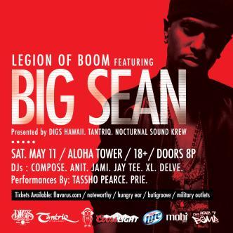 Big Sean Live at Aloha Tower: Main Image